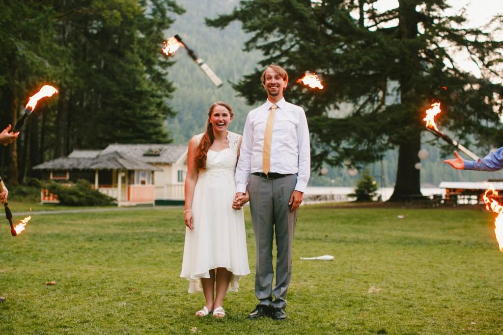 Fire Juggling @ wedding
